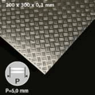 Lamiera In Alluminio Mandorlata Fedele82