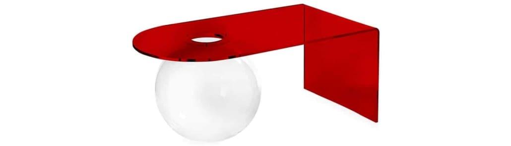 Tavolino-bolla-rosso